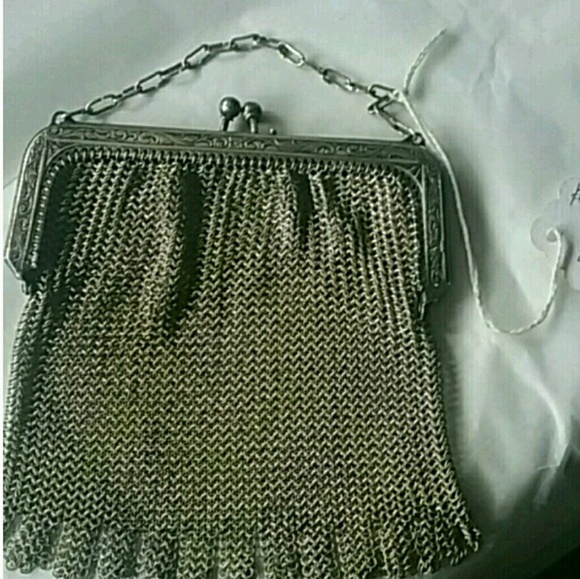 Whiting and davis antique mesh bag